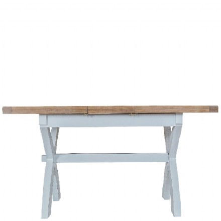 Toulouse Grey 1.8m Cross Extending Table